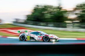 Georg Weiss Leonard Weiss Indy Dontje Hendrik Still Wochenspiegel Team Monschau Ferrari 488 GT3 24h Nürburgring