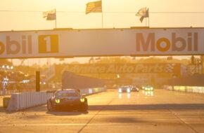 Laurens Vanthoor Zacharie Robichon Lars Kern Pfaff Motorsports Porsche 911 GT3 R IMSA WeatherTech SportsCar Championship Sebring