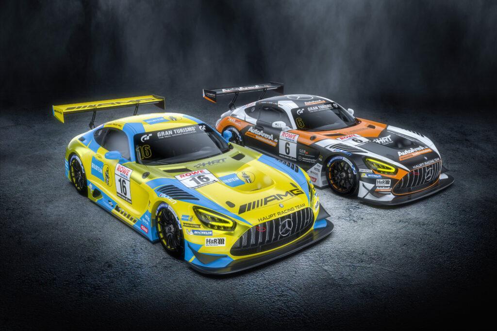 Haupt Racing Team Mercedes-AMG GT3