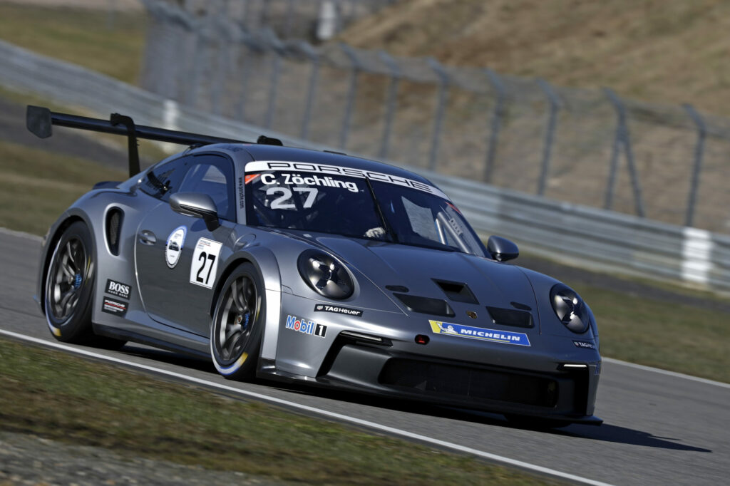 Christopher Zöchling Fach Auto Tech Porsche 911 GT3 Cup Porsche Carrera Cup Nürburgring
