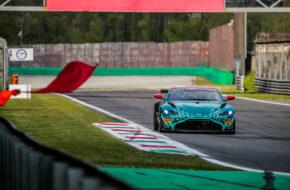 Henrik Lyngbye Pedersen Markus Lungstrass Racing One Aston Martin Vantage GT4 GT4 European Series Monza