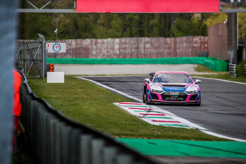 Thomas Hodier Pierre Courroye Team Speedcar Audi R8 LMS GT4 GT4 European Series Monza