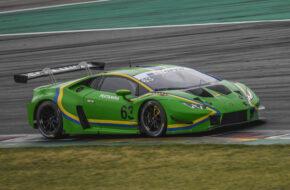 Michele Beretta und Frederik Schandorff Vincenzo Sospiri Racing Lamborghini Huracan GT3 International GT Open Barcelona