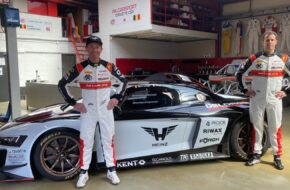Bert Longin Peter Guelinckx PK Carsport by Heinz Audi R8 LMS GT2