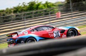 Yves Lemaitre Ruben Del Sarte Mirage Racing Aston Martin Vantage GT4 FFSA GT Nogaro
