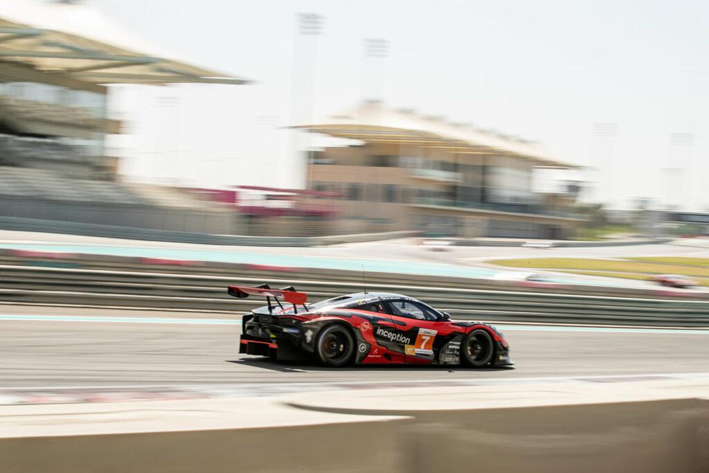 Ben Barnicoat Ollie Millroy Brendan Iribe Inception Racing McLaren 720S GT3 Asian Le Mans Series Abu Dhabi