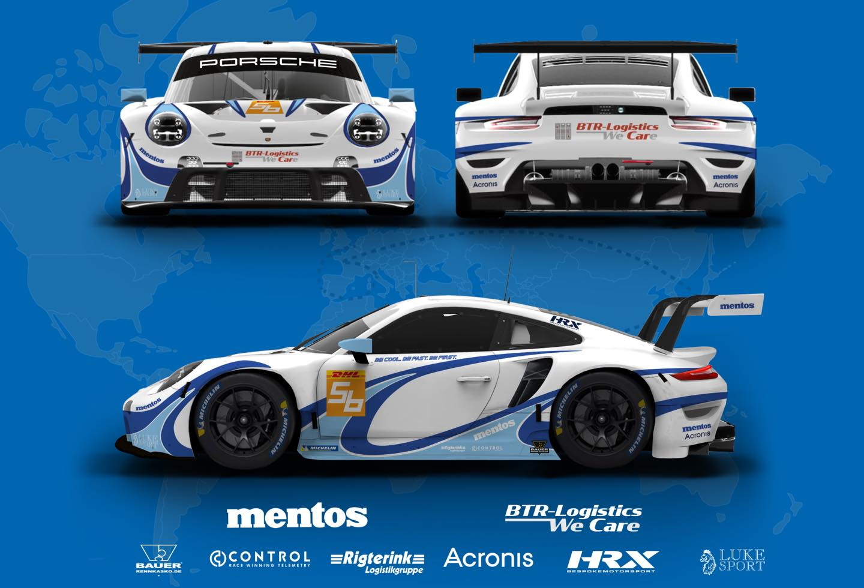 Project 1 Porsche 911 RSR