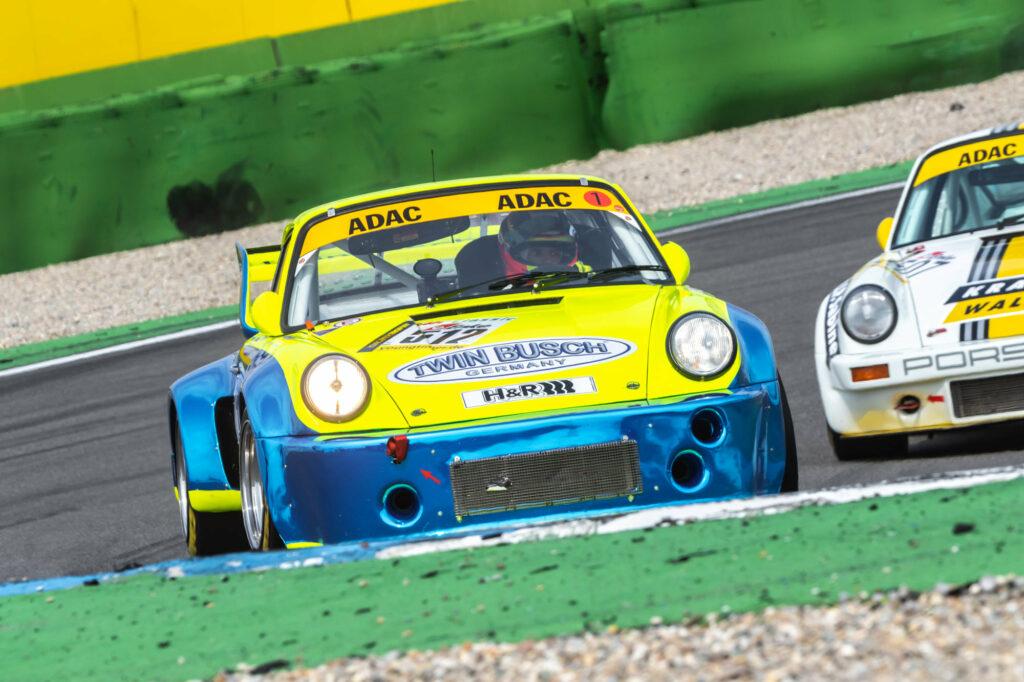 Dennis Busch Marc Busch Joos Sportwagentechnik Porsche 911 RSR Youngtimer Trophy Hockenheim