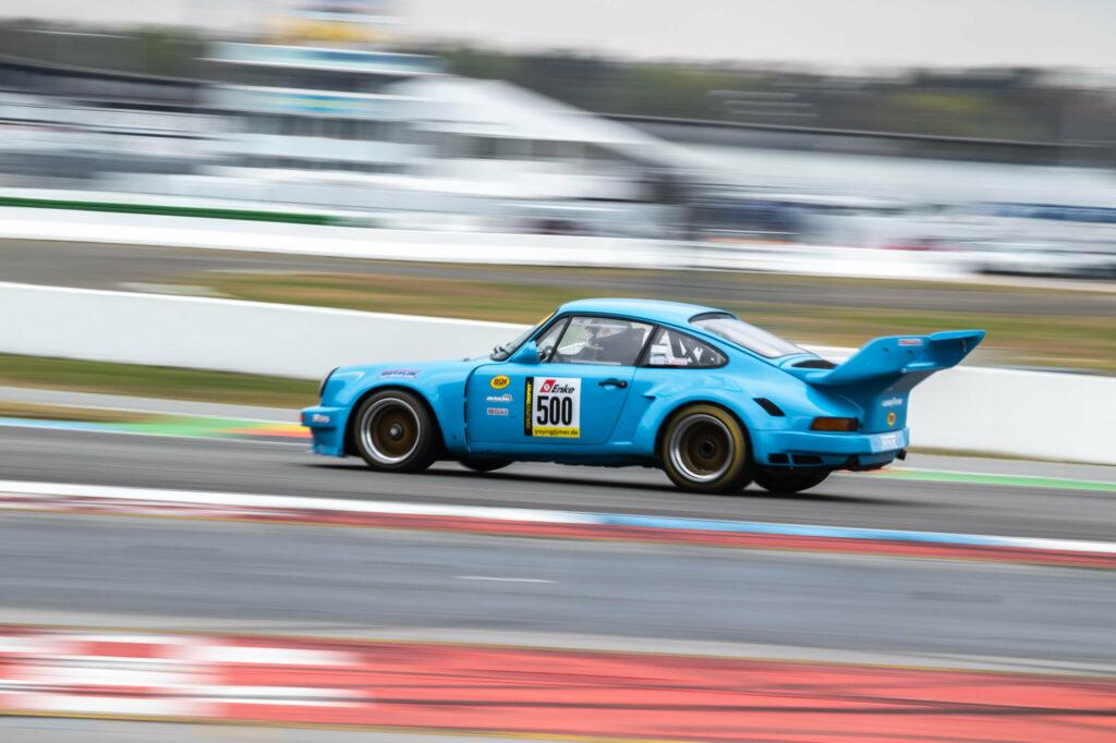 Nick Salewsky Edgar Salewsky Porsche 911 RSR Youngtimer Trophy Hockenheim