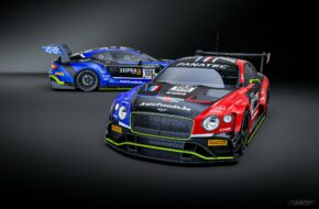 Classic and Modern Racing Bentley Continental GT3