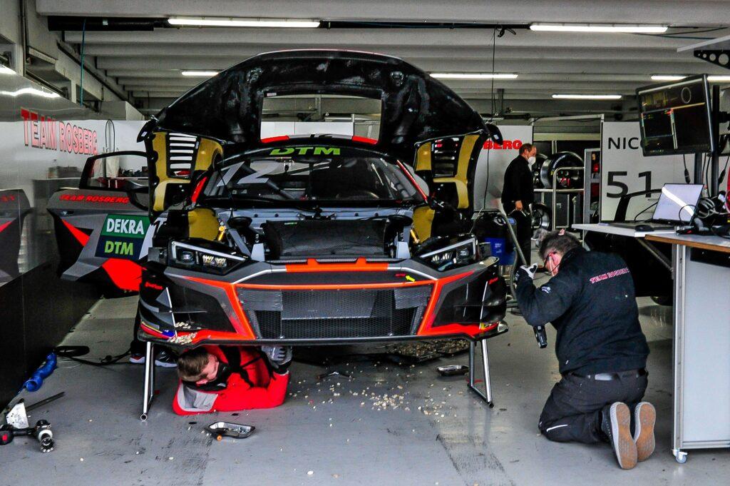 Dev Gore Team Rosberg Audi R8 LMS GT3 DTM Hockenheim