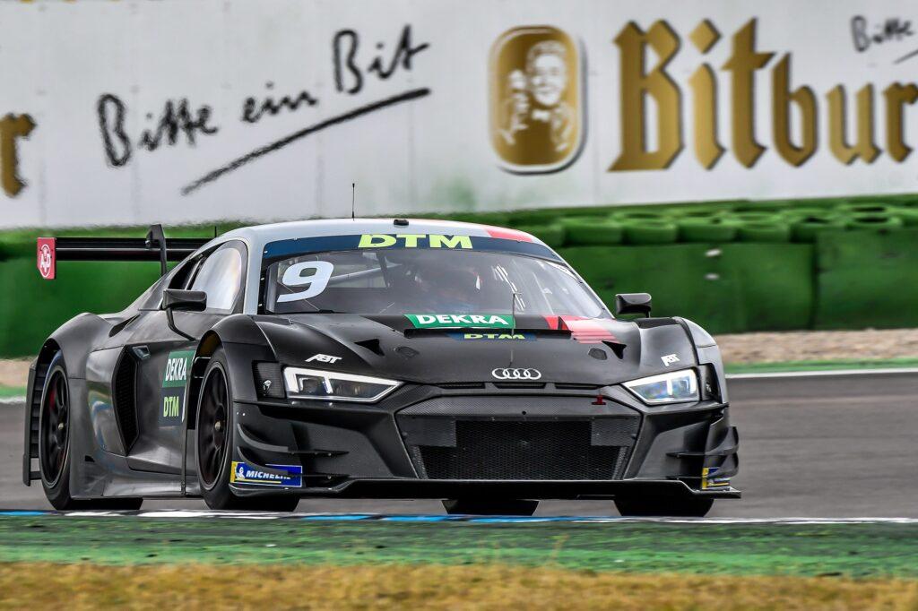 Kelvin van der Linde Mike Rockenfeller Abt Sportline Audi R8 LMS GT3 DTM Hockenheim