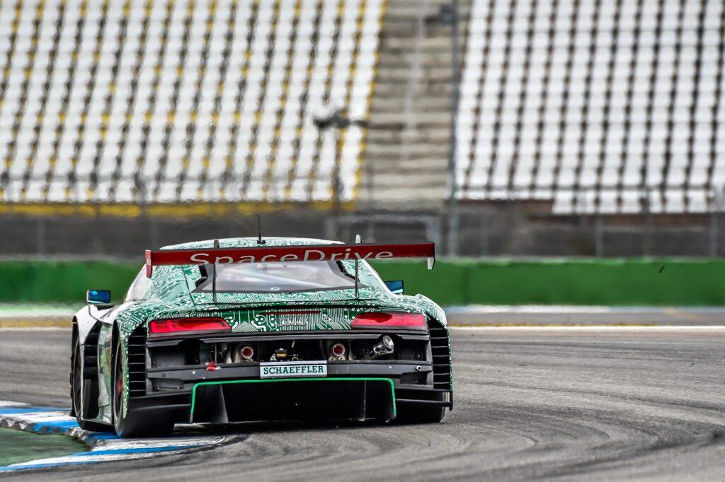 Sophia Flörsch Abt Sportsline Audi R8 LMS GT3 DTM Hockenheim