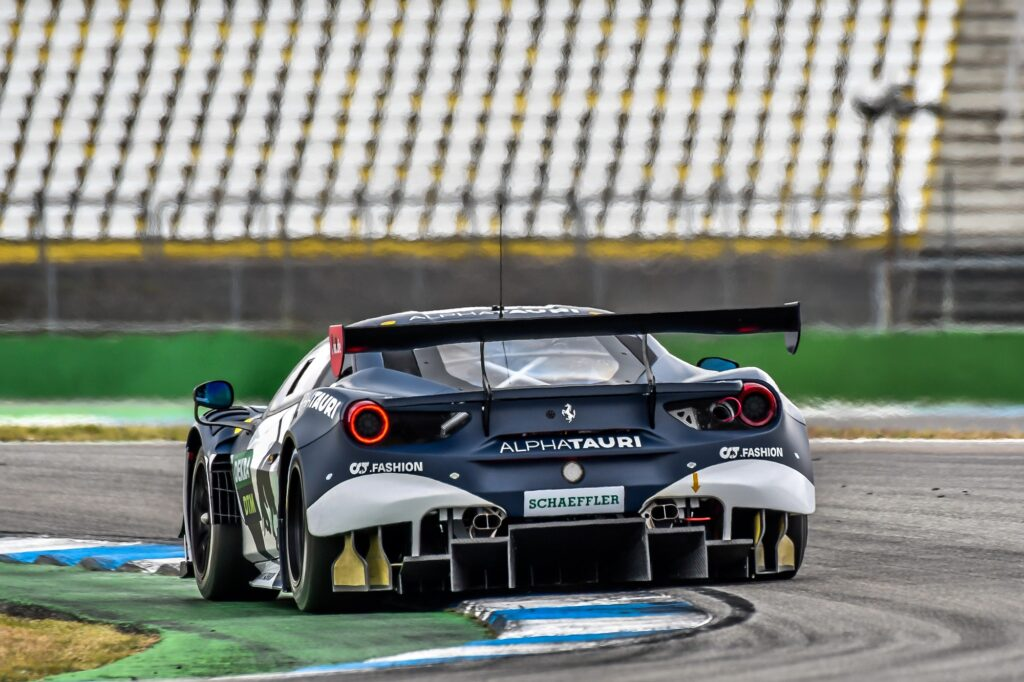 Alexander Albon AF Corse Ferrari 488 GT3 DTM Hockenheim