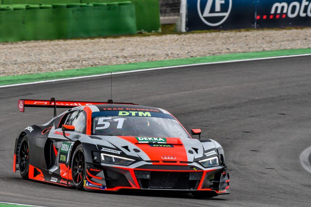 Nico Müller Team Rosberg Audi R8 LMS GT3 DTM Hockenheim