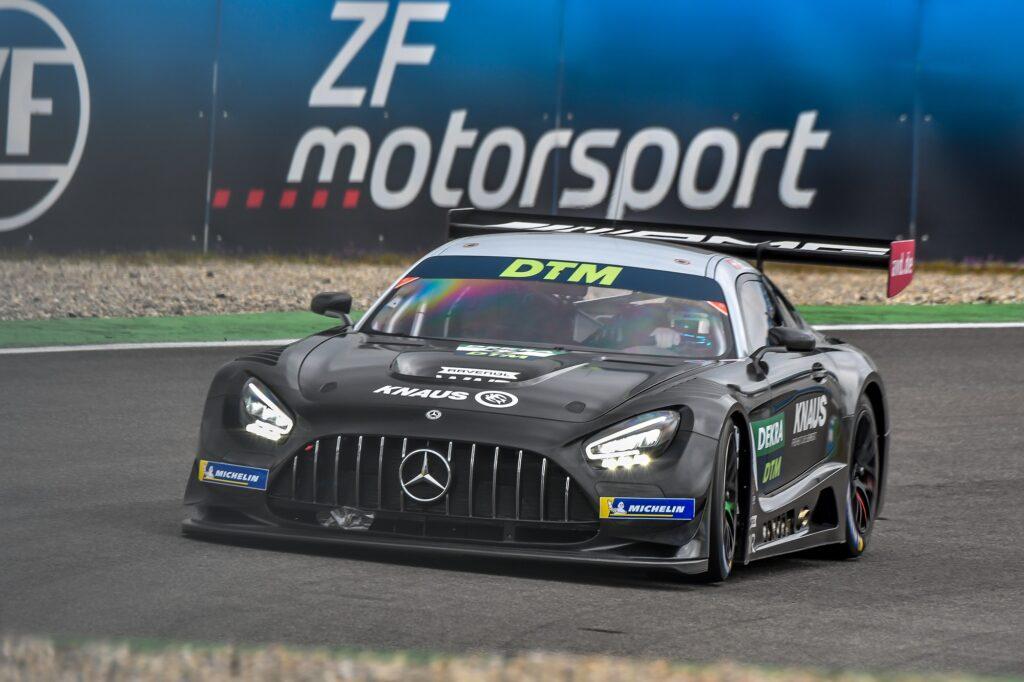 Philip Ellis WINWARD Racing Mercedes-AMG GT3 DTM Hockenheim