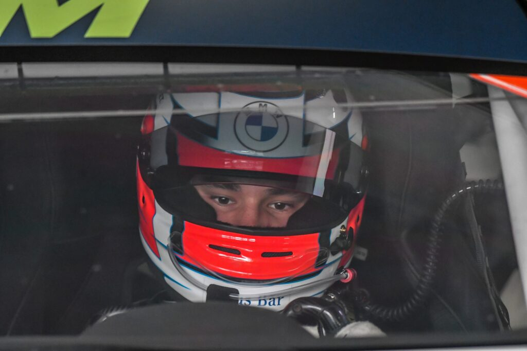 Sheldon van der Linde ROWE Racing BMW M6 GT3 DTM Hockenheim