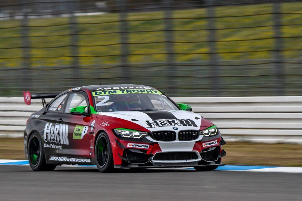 Michael Schrey Hofor Racing by Bonk Motorsport BMW M4 GT4 DTM Trophy Hockenheim