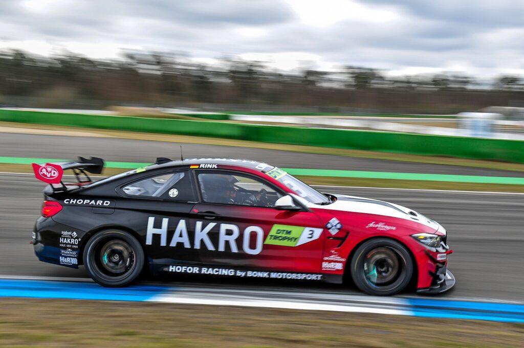 Christopher Rink Hofor Racing by Bonk Motorsport BMW M4 GT4 DTM Trophy Hockenheim