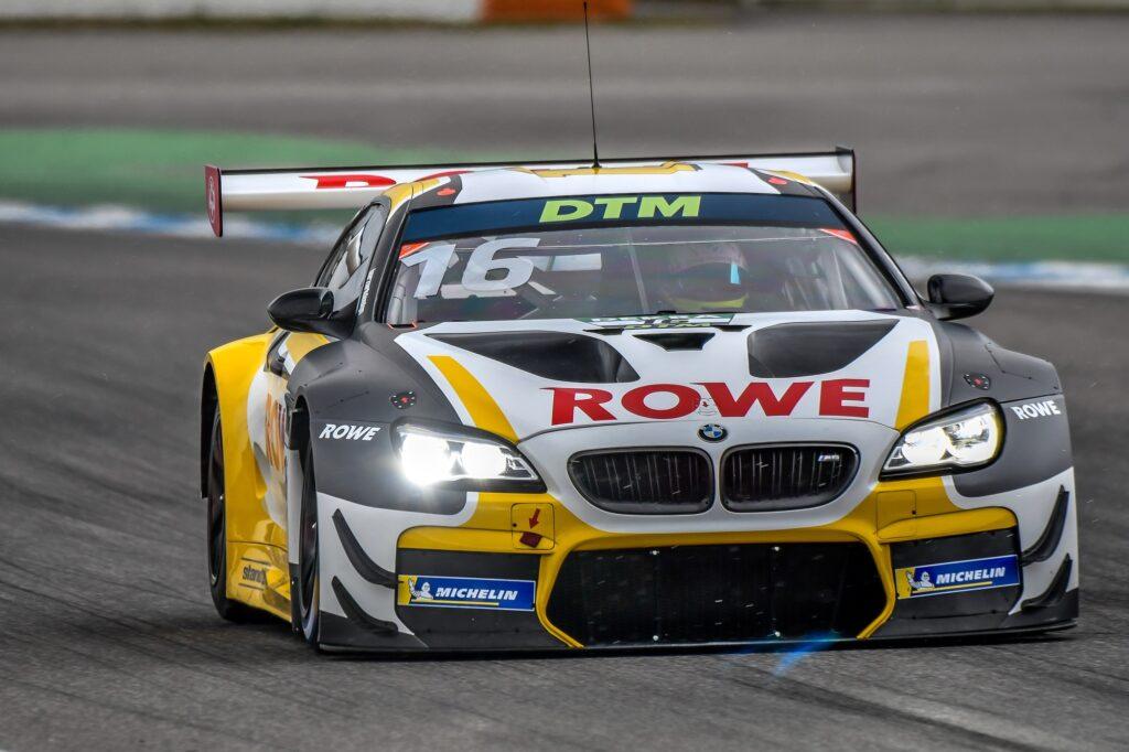 Timo Glock Sheldon van der Linde ROWE Racing BMW M6 GT3 DTM Hockenheim