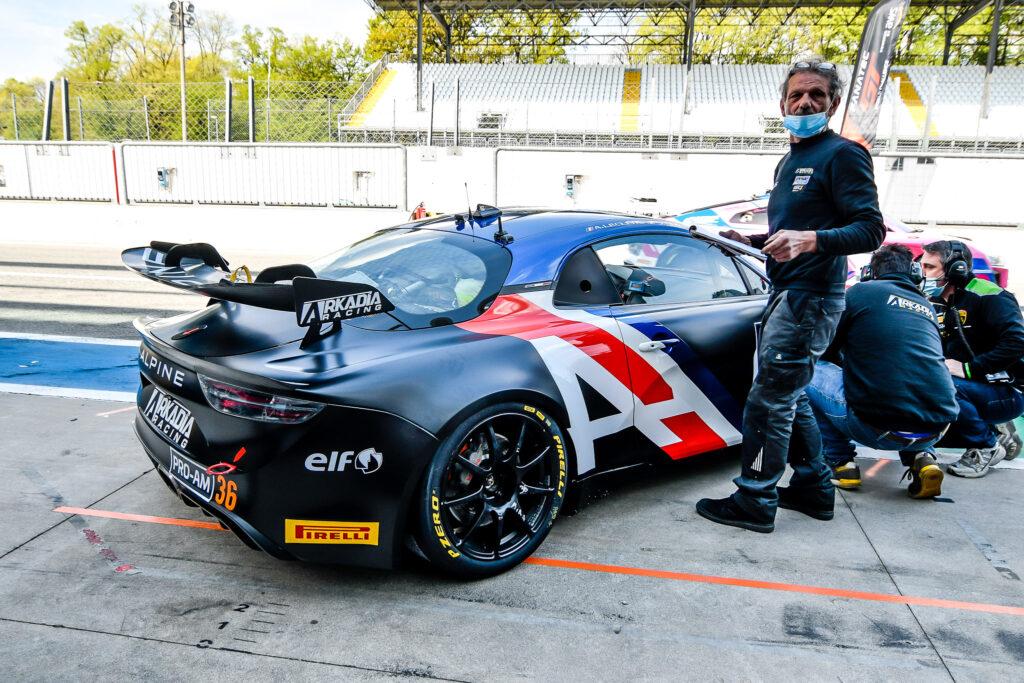 Stephan Guerin Antoine Leclerc Arkadia Racing Alpine A110 GT4 GT4 European Series Monza