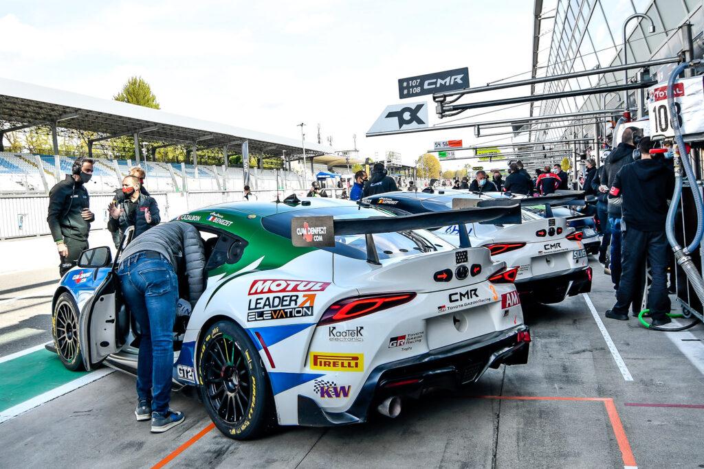 Andrea Benezet Wilfried Cazalbon Classic and Modern Racing Toyota GR Supra GT4 GT4 European Series Monza