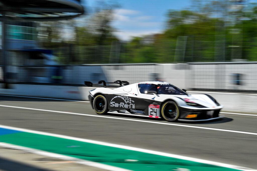 Hans-Joachim Stuck Kris Rosenberger True Racing KTM X-Bow GT2 GT2 European Series Monza