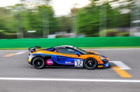 Gus Bowers Dean MacDonald United Autosports McLaren 570S GT4 GT4 European Series Monza