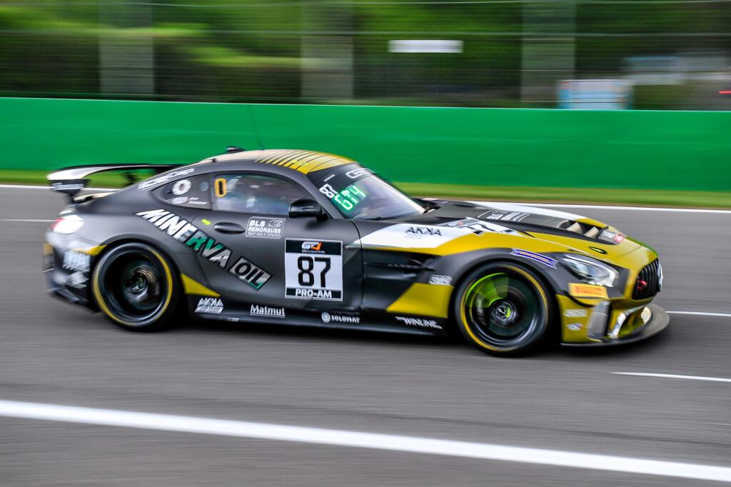 Jean Luc Beaubelique Jim Pla AKKA ASP Mercedes-AMG GT4 GT4 European Series Monza
