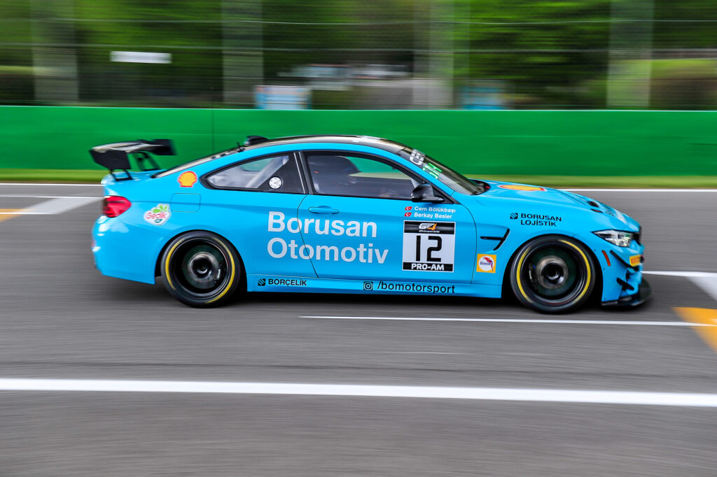 Cem Bolukbasi Berkay Besler Borusan Otomotiv Motorsport BMW M4 GT4 GT4 European Series Monza