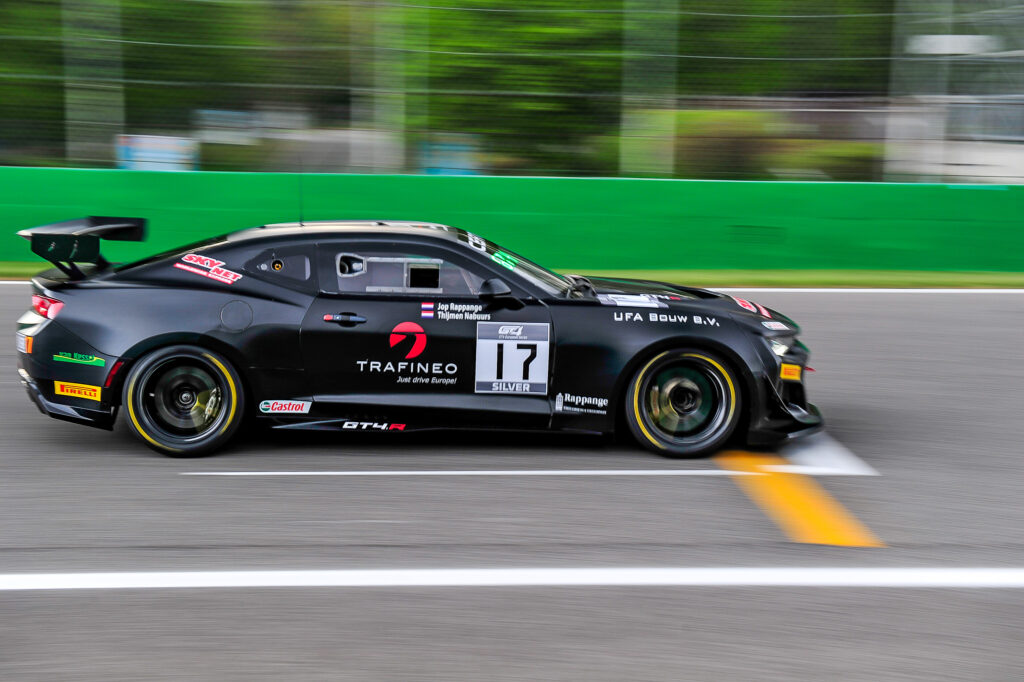 Jop Rappange Thijmen Nabuurs V8 Racing Chevrolet Camaro GT4.R GT4 European Series Monza