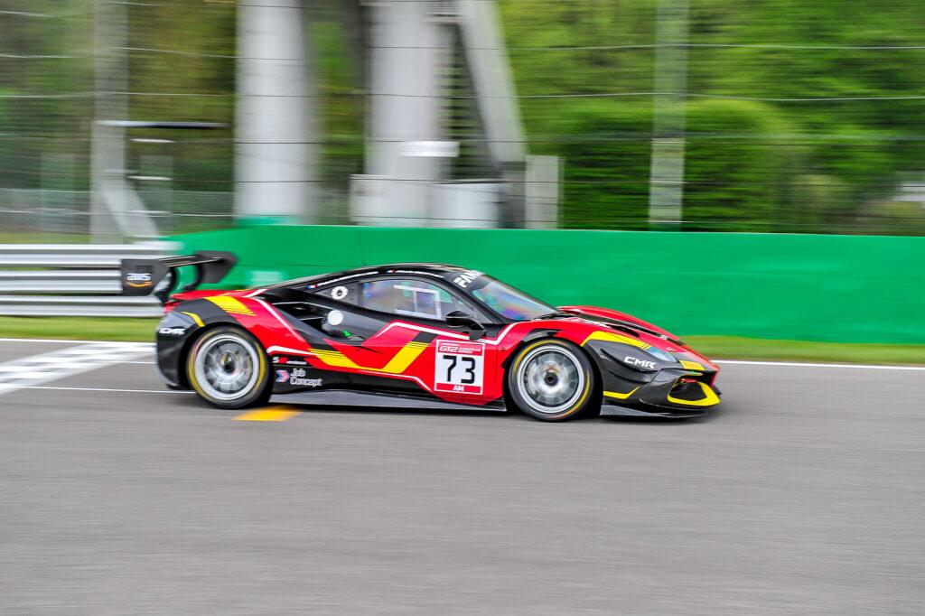 Patrick Michellier Alexis Berthet Classic and Modern Racing Ferrari 488 Challenge GT2 European Series Monza