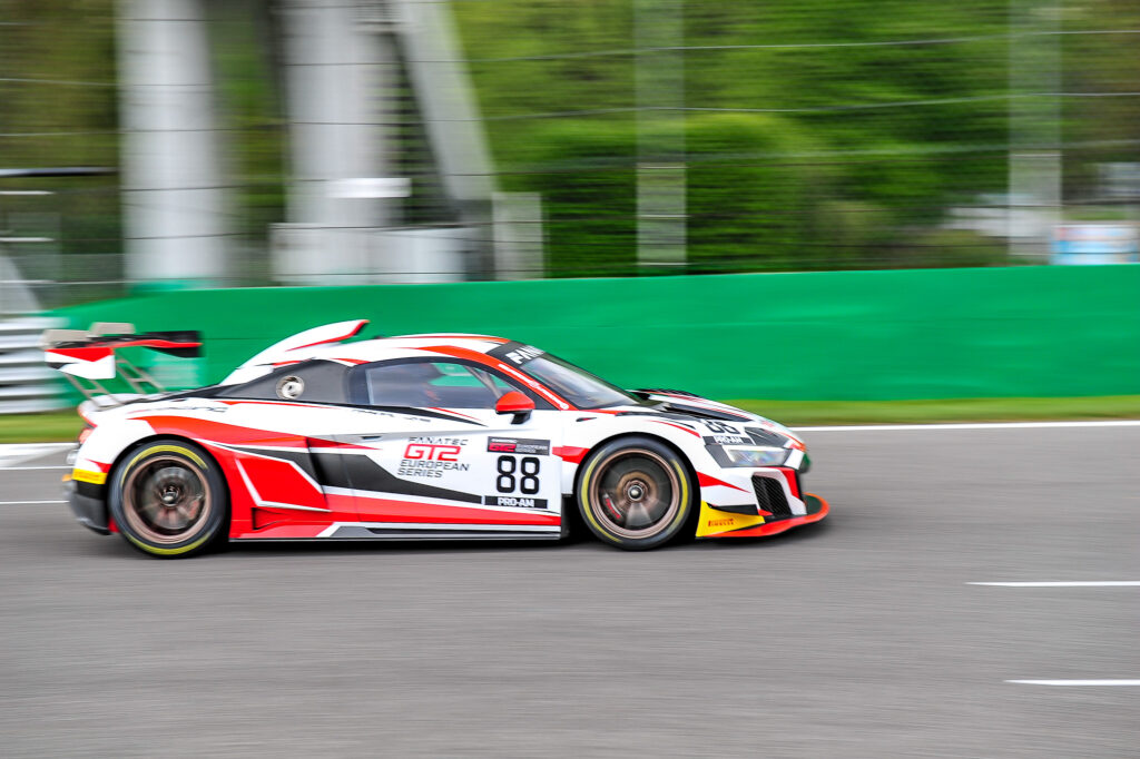 Luca Pirri Stéphane Ratel LP Racing Audi R8 LMS GT2 GT2 European Series Monza