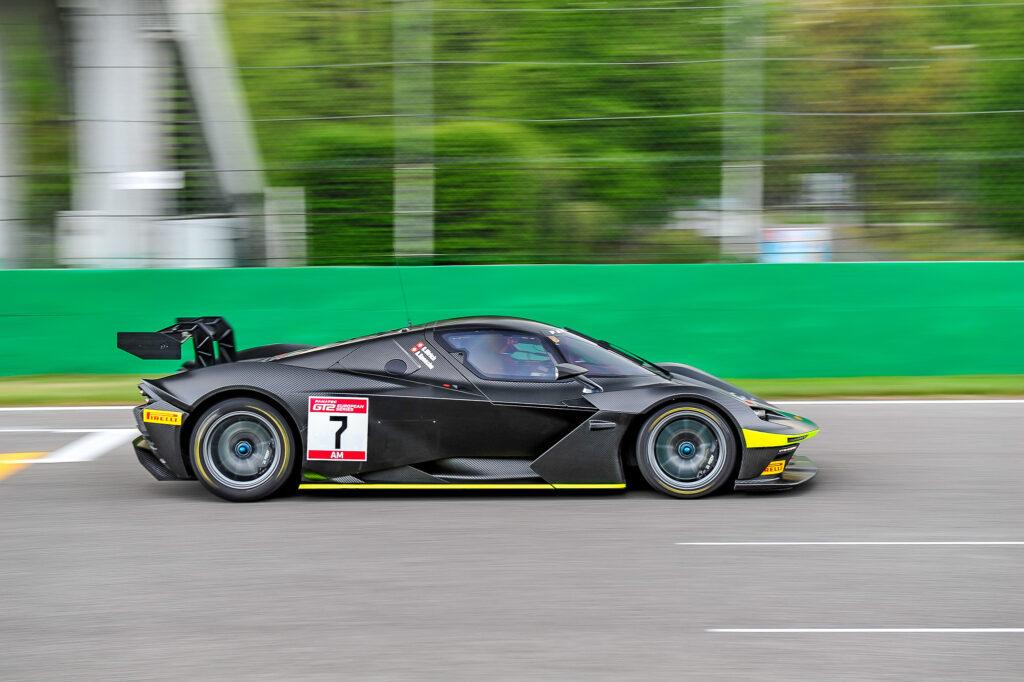 Christoph Ulrich Adrian Spescha Sportec Motorsport KTM X-Bow GT2 GT2 European Series Monza