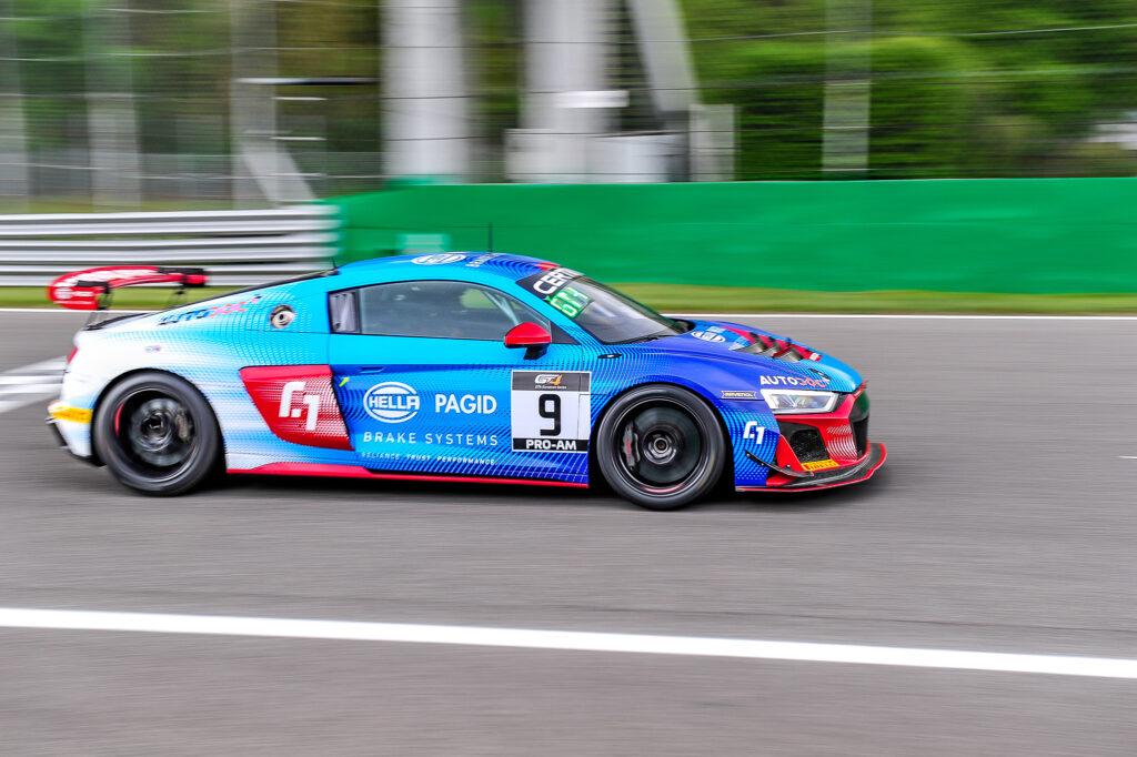 Christian Gisy Ralf Kelleners Racing One Audi R8 LMS GT4 GT4 European Series Monza