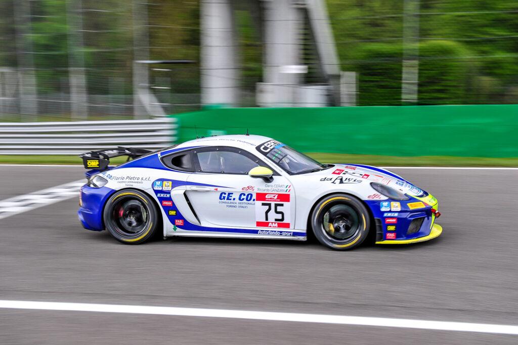 Dario Cerati Riccardo Canzian Autorlando Sport Porsche 718 Cayman GT4 Clubsport MR GT4 European Series Monza