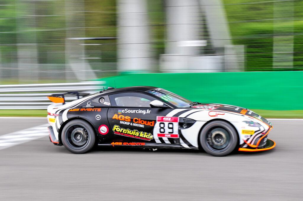 Nicolas Gomar Eric Herr AGS Events Aston Martin Vantage GT4 GT4 European Series Monza