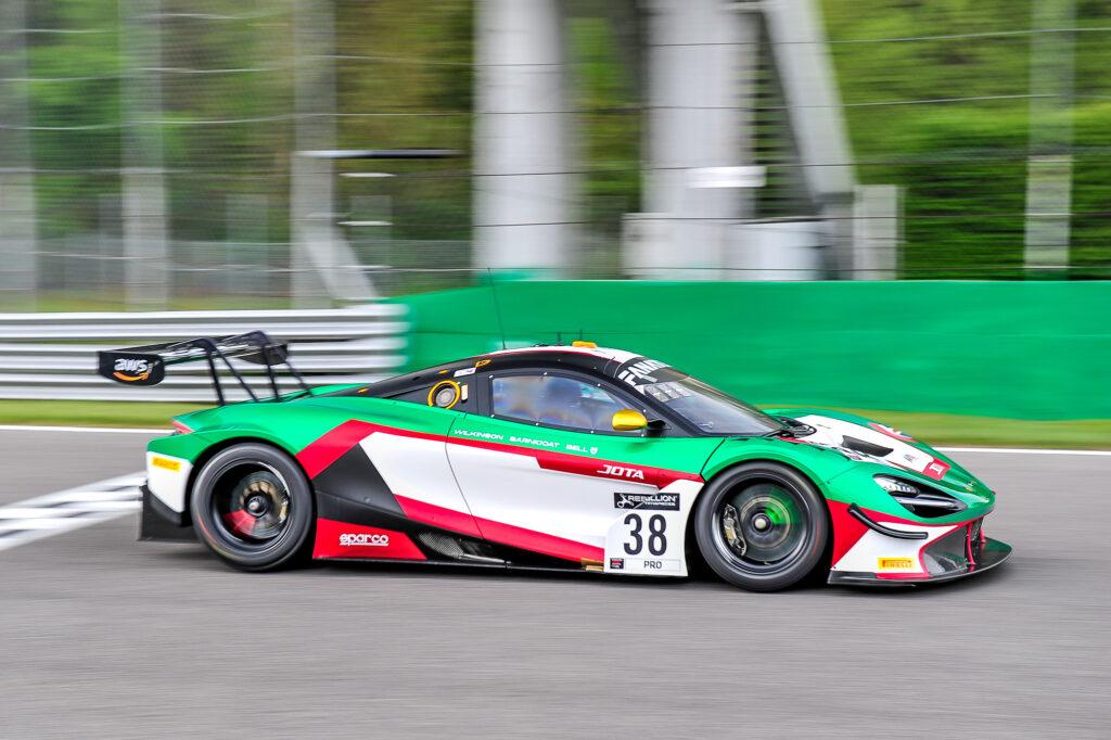 Oliver Wilkinson Rob Bell Ben Barnicoat JOTA McLaren 720S GT3 GT World Challenge Europe Endurance Cup Monza