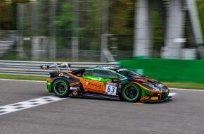 Mirko Bortolotti Marco Mapelli Andrea Caldarelli Orange 1 FFF Racing Team Lamborghini Huracan GT3 GT World Challenge Europe Endurance Cup Monza