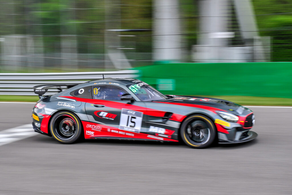 Xavier Lloveras Lluc Ibanez NM Racing Team Mercedes-AMG GT4 GT4 European Series Monza