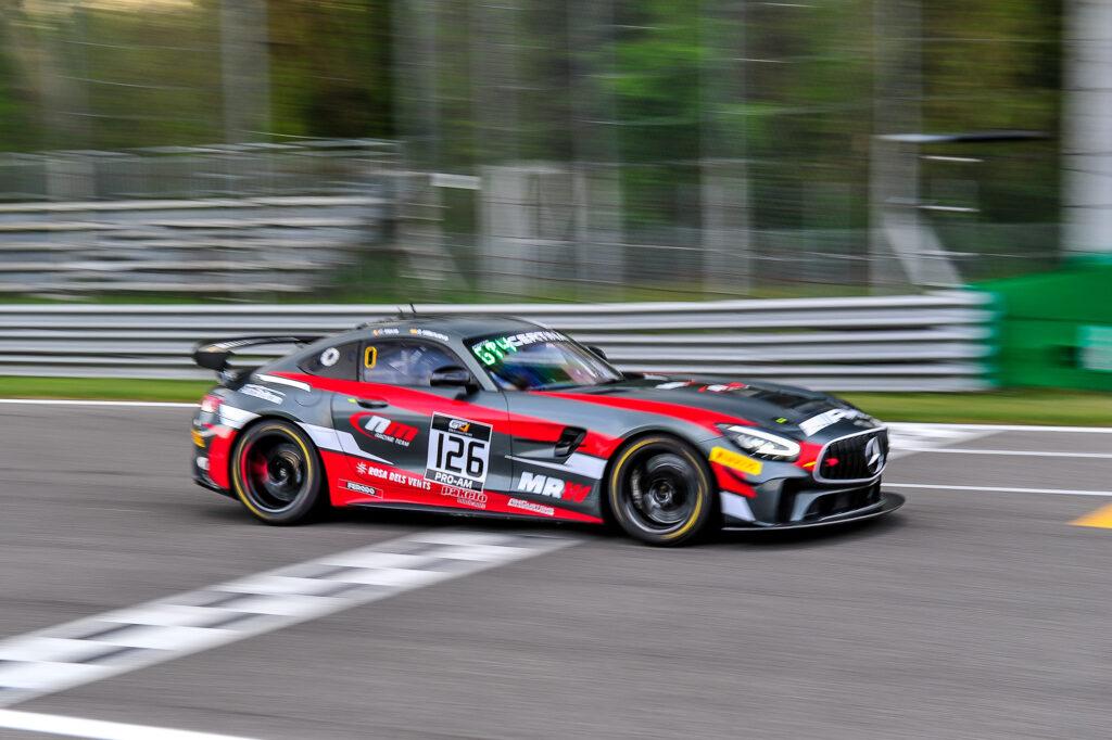 Filip Vava-Atanackovic Rafael Villanueva NM Racing Team Mercedes-AMG GT4 GT4 European Series Monza