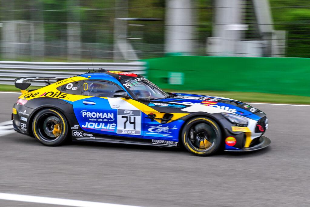 Enzo Joulie Sébastien Baud CD Sport Mercedes-AMG GT4 GT4 European Series Monza