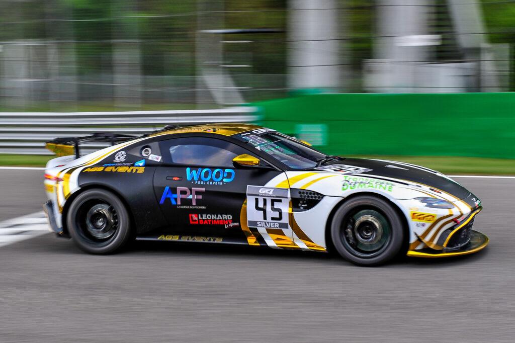 Hugo Condé Akhil Rabindra AGS Events Aston Martin Vantage GT4 GT4 European Series Monza