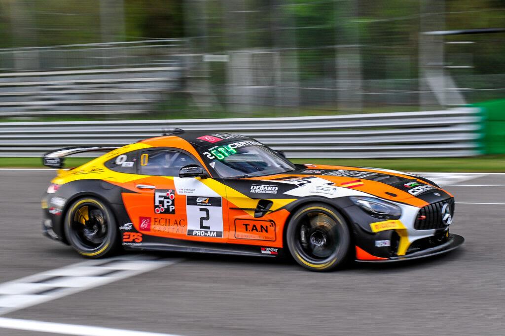 Jean-Ludovic Foubert Hugo Chevalier CD Sport Mercedes-AMG GT4 GT4 European Series Monza