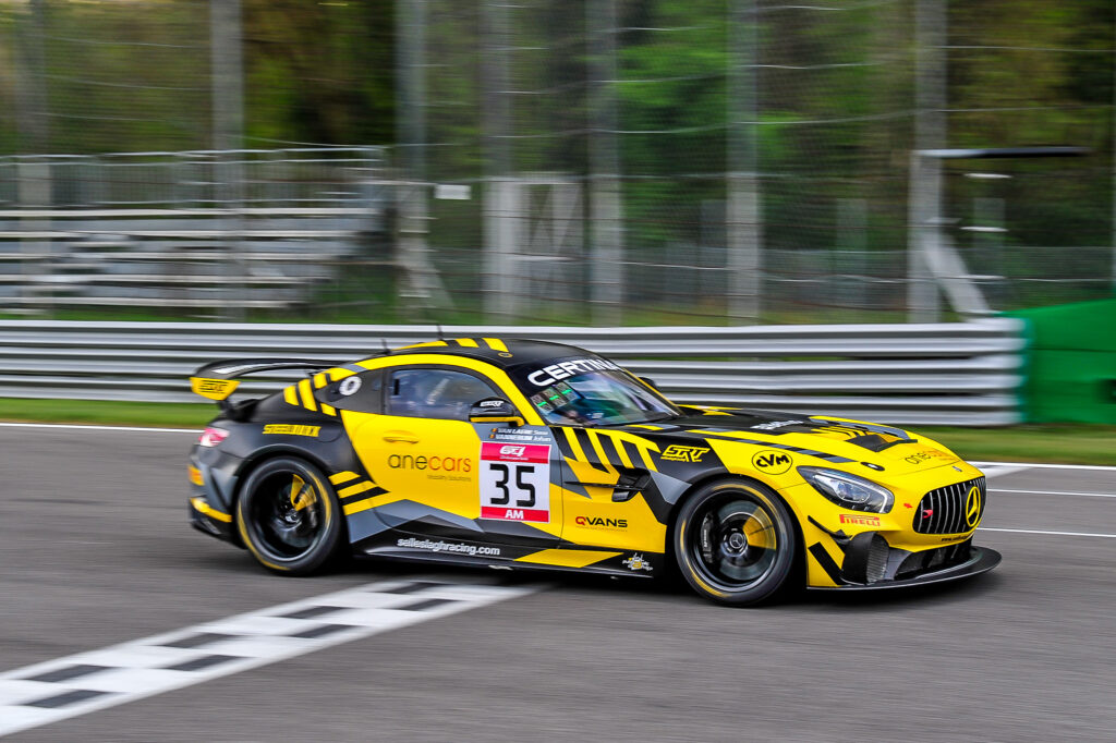 Johan Vannerum Sven van Laere Selleslagh Racing Team Mercedes-AMG GT4 GT4 European Series Monza