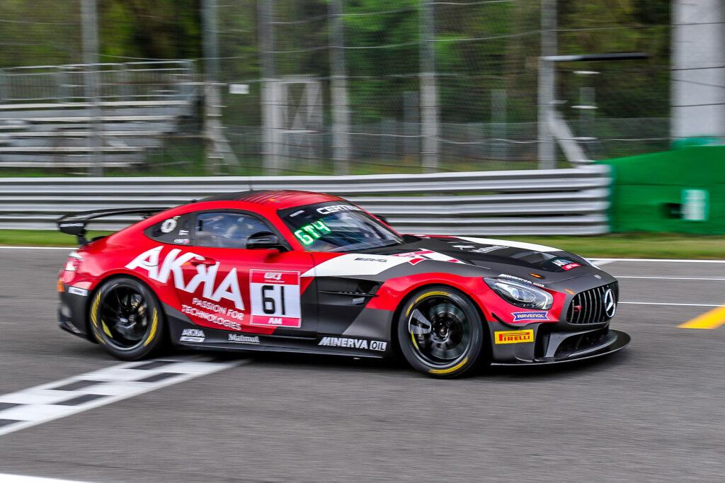 Mauro Ricci Benjamin Ricci AKKA ASP Mercedes-AMG GT4 GT4 European Series Monza