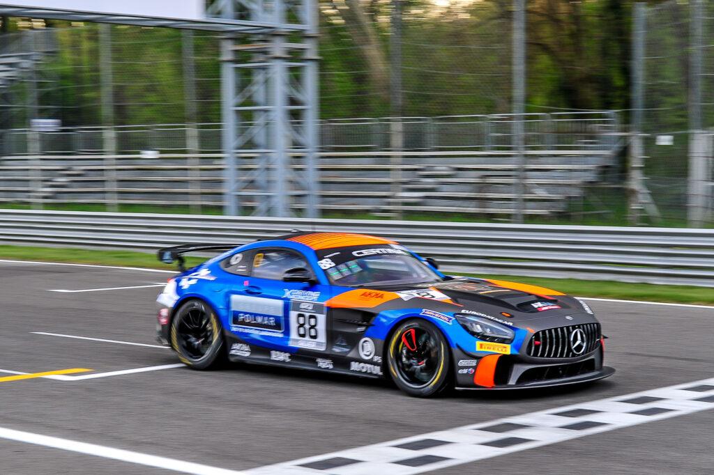 Paul Evrard Timothe Buret AKKA ASP Mercedes-AMG GT4 GT4 European Series Monza