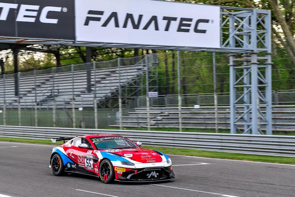 Ruben del Sarte Tom Canning Mirage Racing Aston Martin Vantage GT4 GT4 European Series Monza