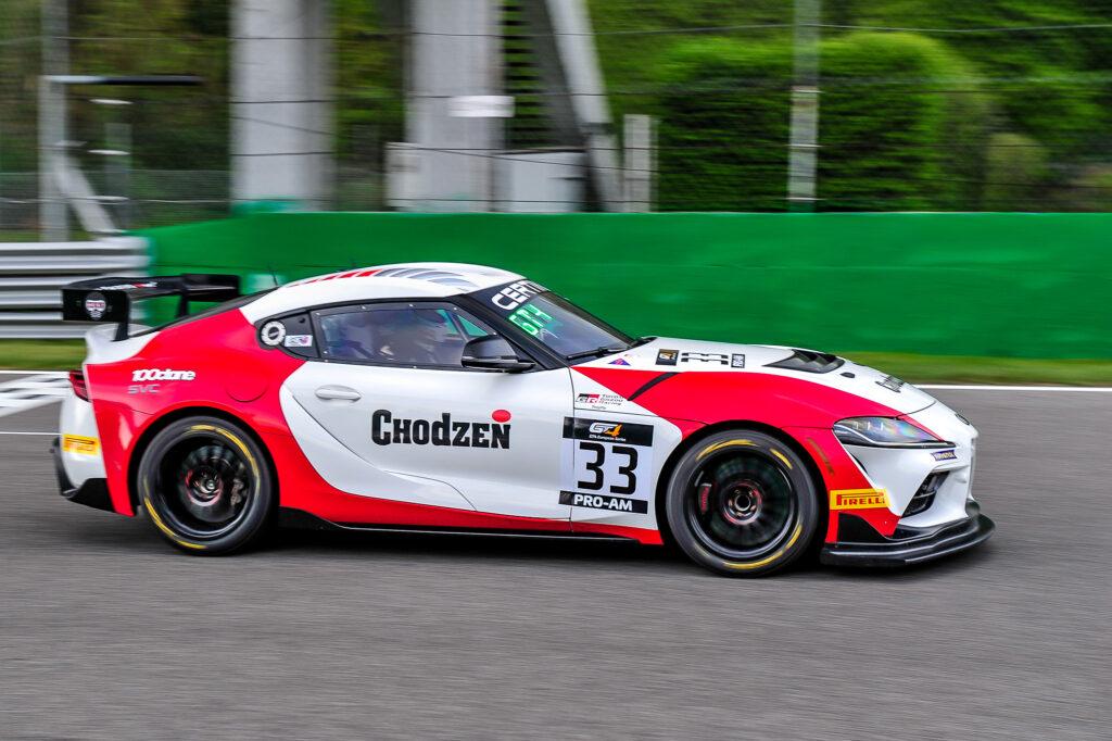 Piotr Chodzen Antoni Chodzen SVC Sport Management Toyota GR Supra GT4 GT4 European Series Monza