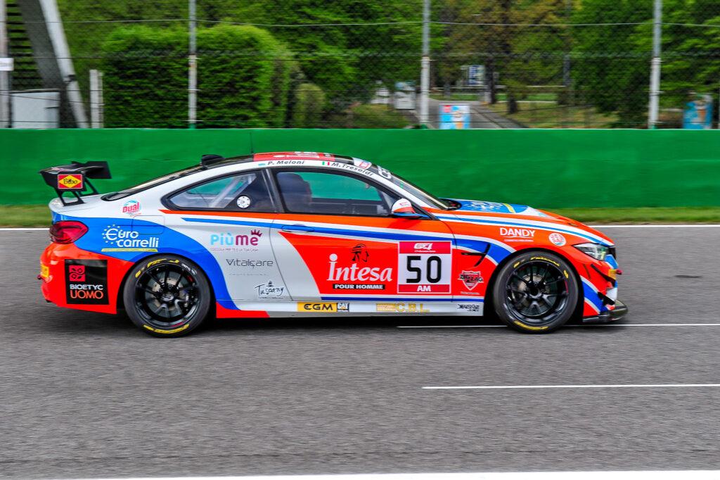 Paolo Meloni Massimiliano Tresoldi W&D Racing Team BMW M4 GT4 GT4 European Series Monza